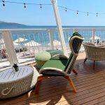 Luštica Bay, beach bar THE ROCK